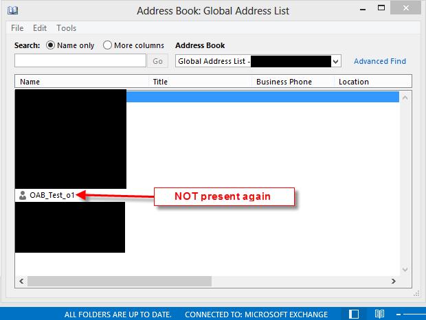 Outlook Mac Offline Address Book